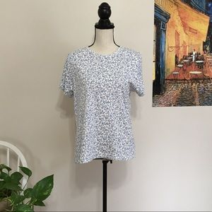 Basic Editions Floral Tee Shirt